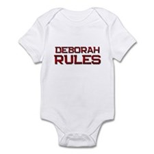 deborah rules Infant Bodysuit
