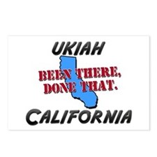 ukiah california - been there, done that Postcards