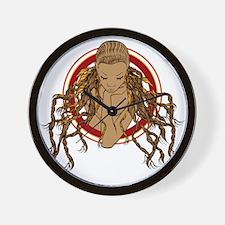 Dreadlock Girl Wall Clock