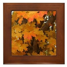 Cute Fall Framed Tile
