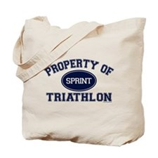 Property of Sprint Triathlon Tote Bag