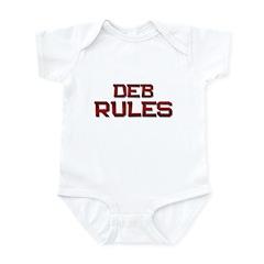 deb rules Infant Bodysuit