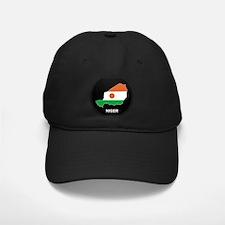 Flag Map of niger Baseball Hat