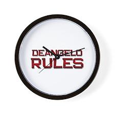 deangelo rules Wall Clock