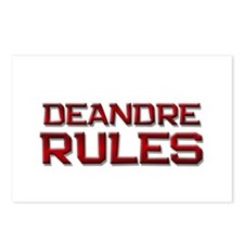 deandre rules Postcards (Package of 8)