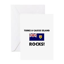 Turks & Caicos Island Rocks Greeting Card