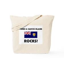 Turks & Caicos Island Rocks Tote Bag