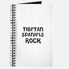 TIBETAN SPANIELS ROCK Journal