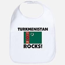 Turkmenistan Rocks Bib