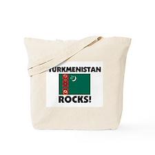 Turkmenistan Rocks Tote Bag