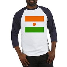 niger Flag Baseball Jersey