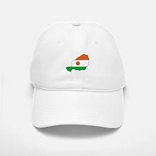 niger Flag Map Baseball Baseball Cap