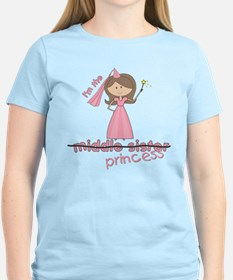 ADULT SIZES Princess middle sister T-Shirt