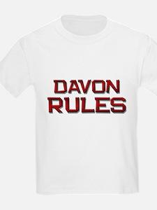 davon rules T-Shirt