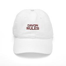 davon rules Baseball Cap
