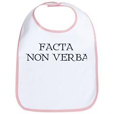 """""""Facta, Non Verba!"""" Bib"""