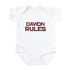 davion rules Infant Bodysuit