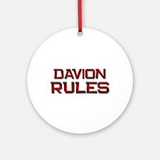 davion rules Ornament (Round)