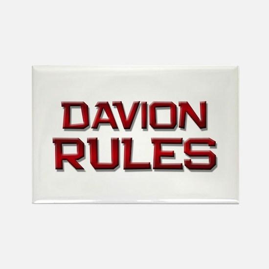 davion rules Rectangle Magnet