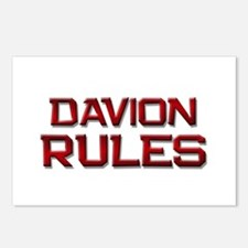 davion rules Postcards (Package of 8)