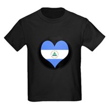 I love Nicaragua Flag T