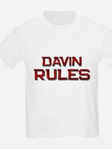 davin rules T-Shirt