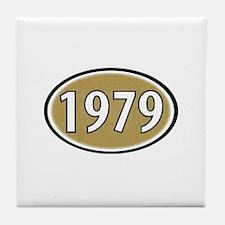 1979 Oval Tile Coaster
