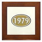 1979 Oval Framed Tile