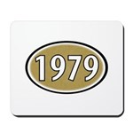 1979 Oval Mousepad
