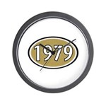 1979 Oval Wall Clock