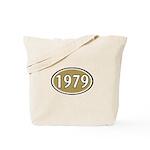 1979 Oval Tote Bag