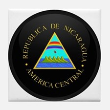 Coat of Arms of Nicaragua Tile Coaster