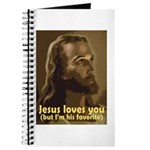 Jesus Loves You, But I'm His Journal