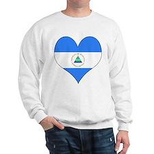 I Love Nicaragua Sweatshirt