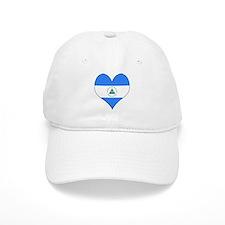 I Love Nicaragua Baseball Cap