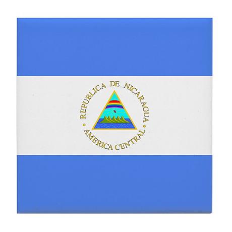 Nicaraguan Tile Coaster