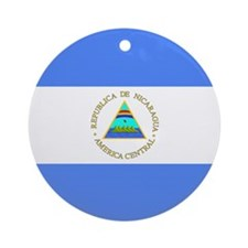 Nicaraguan Ornament (Round)