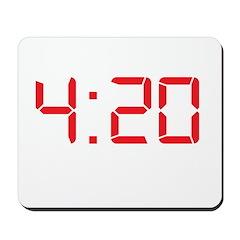 4:20 Four Twenty Weed Mousepad