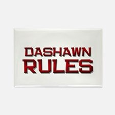 dashawn rules Rectangle Magnet