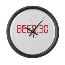 BEER 30 Irish Thirty Large Wall Clock