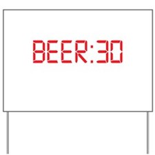 BEER 30 Irish Thirty Yard Sign