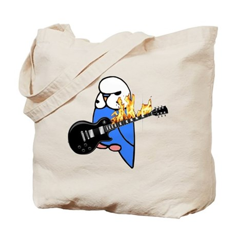 English Budgie Rocks Tote Bag