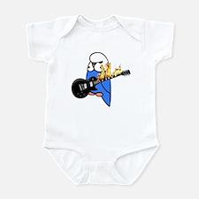 English Budgie Rocks Infant Bodysuit