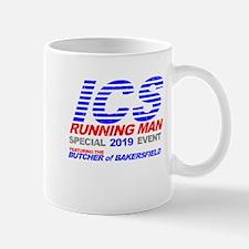 ICS Running Man Retro Mug