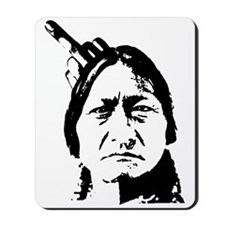 Funny chief Mousepad