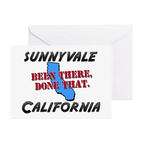 sunnyvale california - been there, done that Greet
