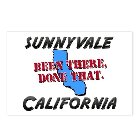 sunnyvale california - been there, done that Postc