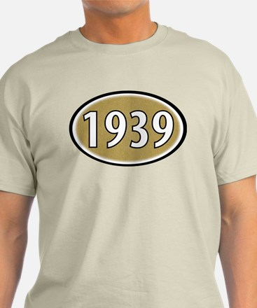 1939 (Oval) T-Shirt