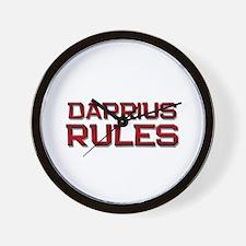 darrius rules Wall Clock