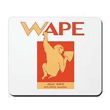 WAPE Jacksonville 1969 -  Mousepad